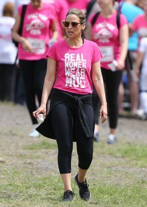 Rachel Stevens - Race For Life Charity Event in London