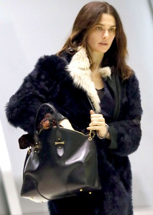 Rachel Weisz - Arrives at JFK Airport in New York City