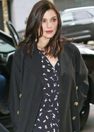 Rachel Weisz - Arriving at CBS studios in New York City