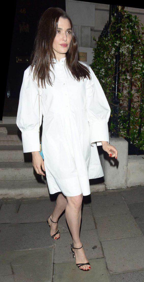 Rachel Weisz at Annabel's in London
