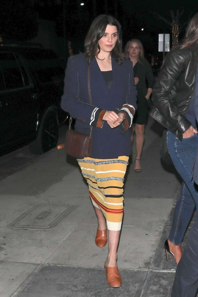 Rachel Weisz at Mr Chow in Beverly Hills