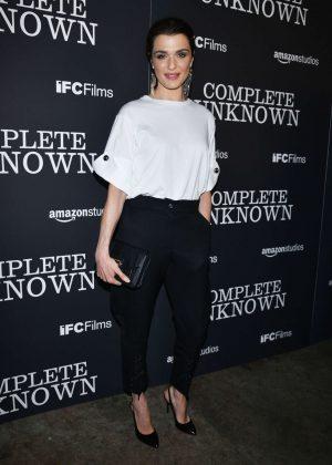 Rachel Weisz - 'Complete Unknown' Premiere in New York