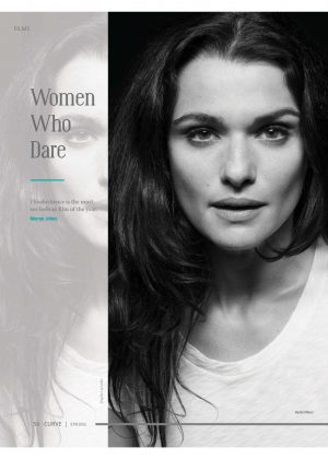 Rachel Weisz - Curve Magazine (Spring 2018)