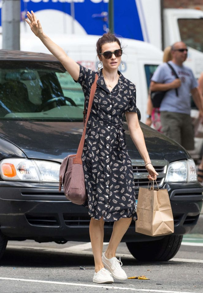 Rachel Weisz out in New York City