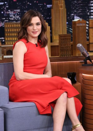 Rachel Weisz - The Tonight Show With Jimmy Fallon in NY