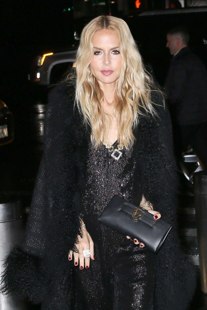 Rachel Zoe - Attending the Brandon Maxwell Fashion Show in New York