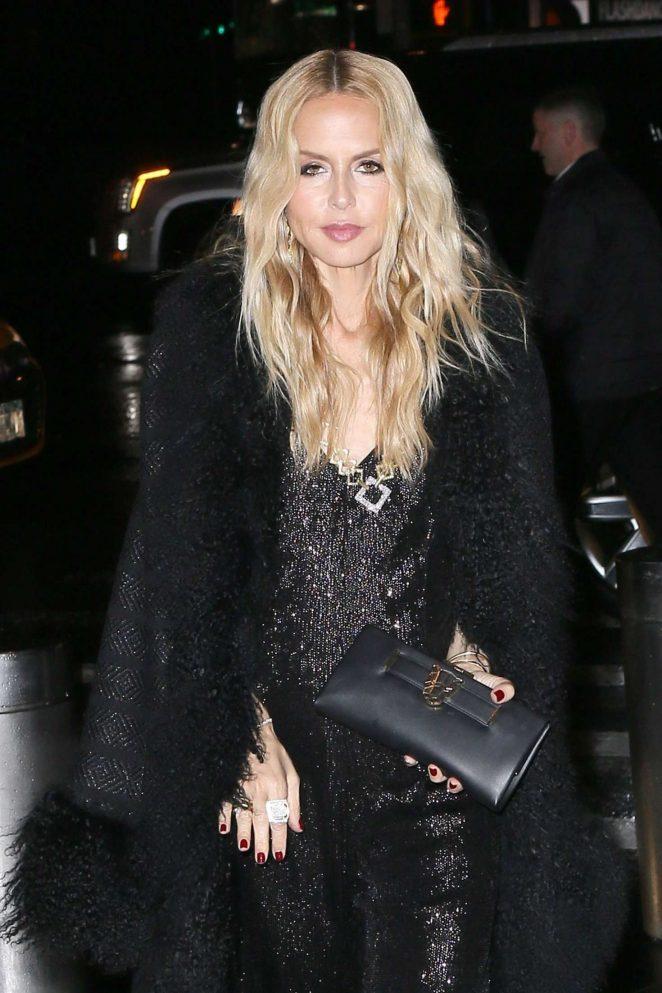 Rachel zoe attending the brandon maxwell fashion show in for Bureau zoe new york
