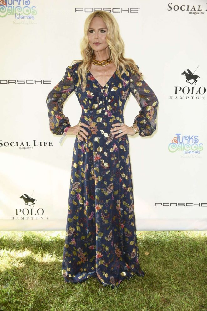 Rachel Zoe - Host Polo in The Hamptons in New York