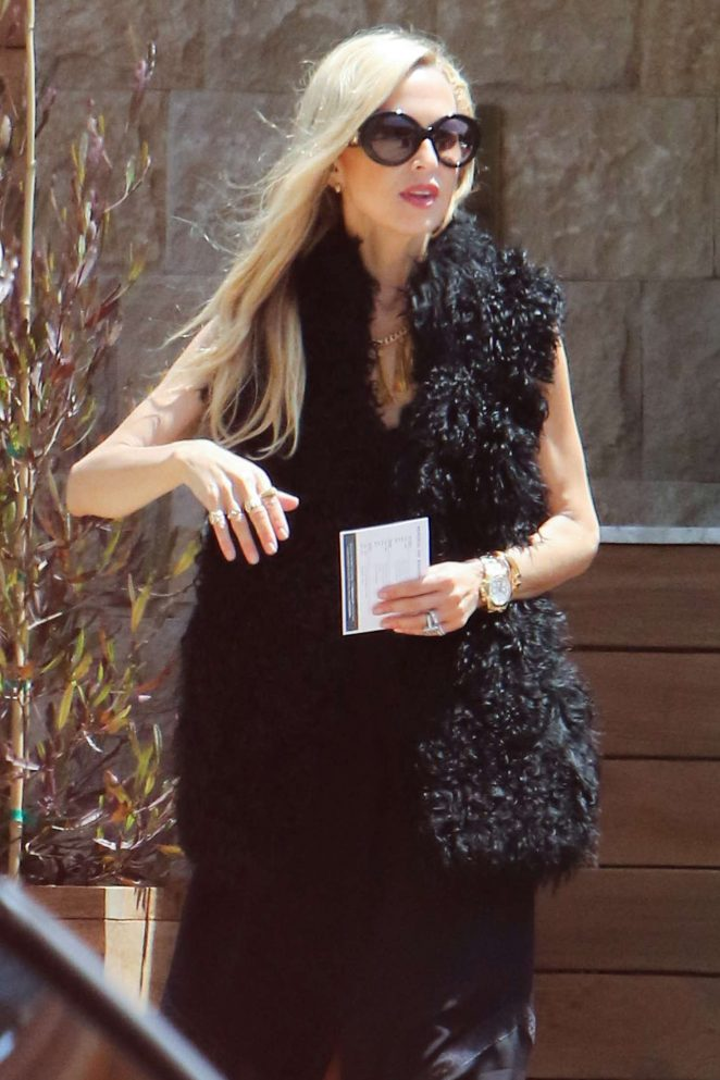 Rachel Zoe in Black -04