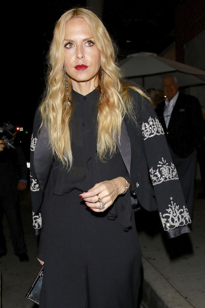 Rachel Zoe - Leaves Mr. Chow in Beverly Hills