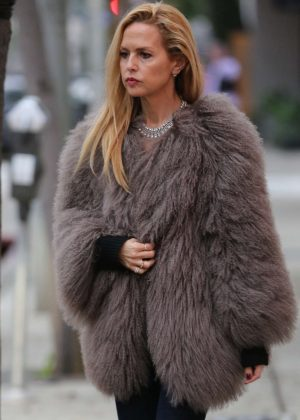 Rachel Zoe - Leaving Au Fudge Restaurant in West Hollywood