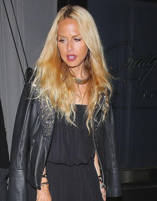 Rachel Zoe – Leaving Craig's Restaurant in West Hollywood