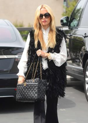 Rachel Zoe - Leaving Her Office in Los Angeles