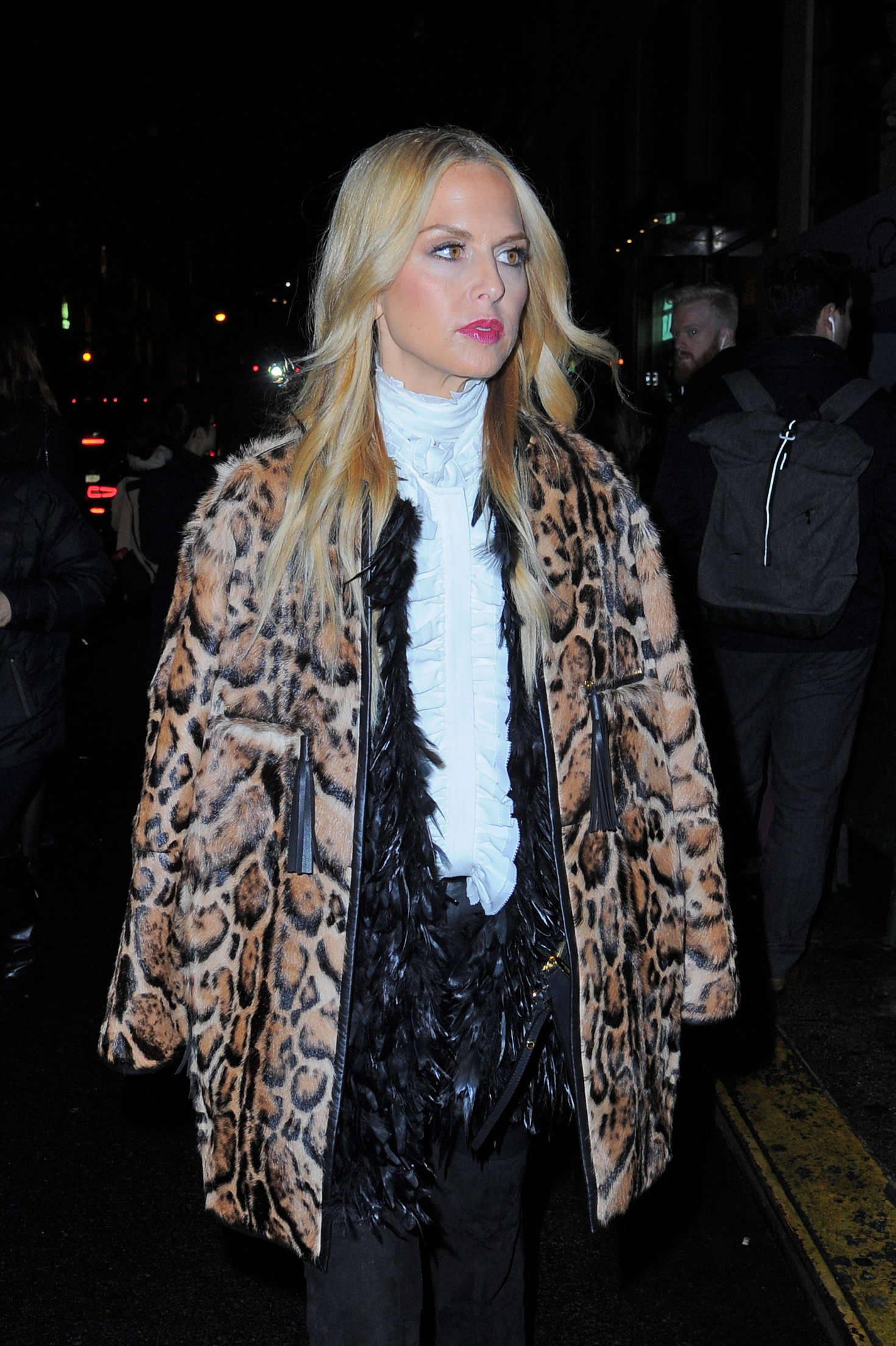 Rachel zoe at oscar de la renta fashion show in new york new images