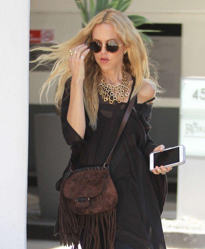 Rachel Zoe out in Beverly Hills