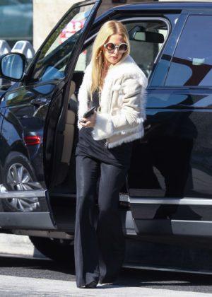 Rachel Zoe out in Los Angeles