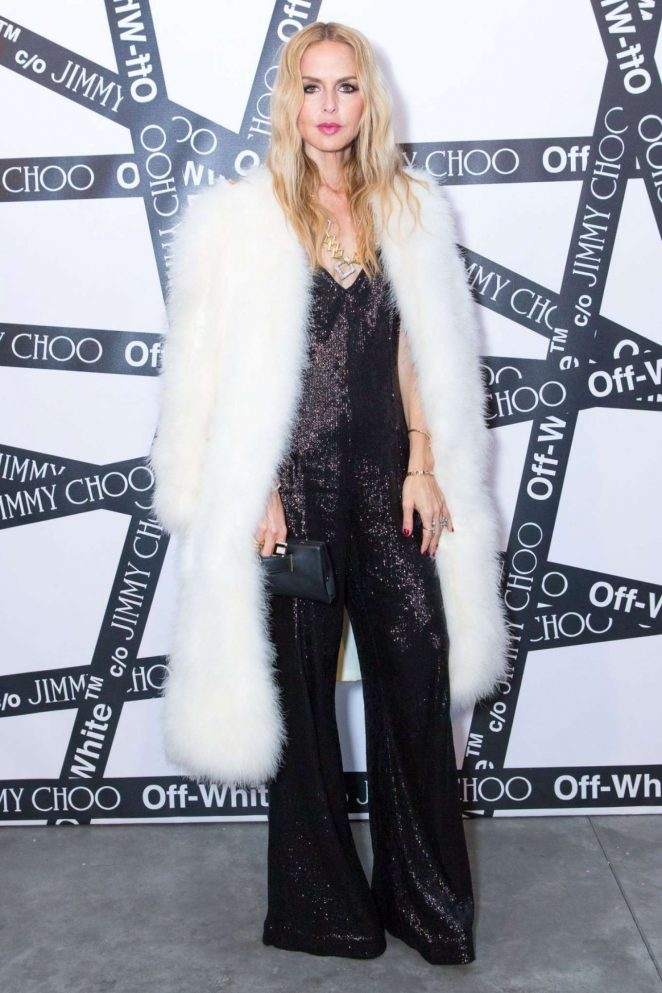 Rachel Zoe - Sandra Choi and Virgil Abloh host NYFW Dinner in NYC