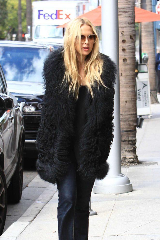 Rachel Zoe Shopping in Beverly Hills