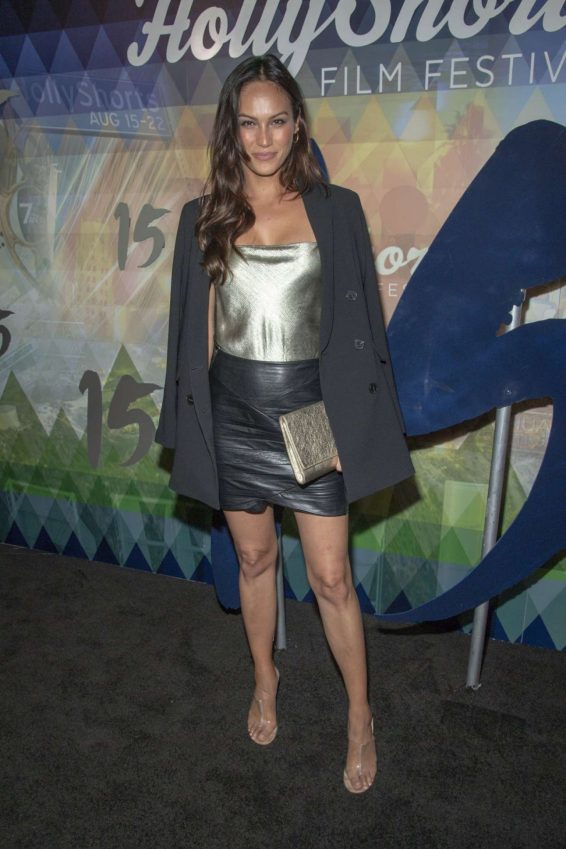 Rachelle Goulding 2019 : Rachelle Goulding – 2019 Oscar Qualifying HollyShorts Film Festival in Hollywood-05