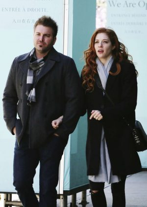 Rachelle Lefevre out in Beverly Hills