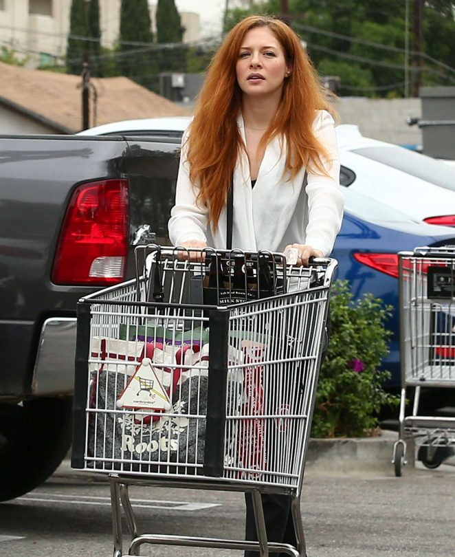 Rachelle Lefevre out shopping in Los Angeles