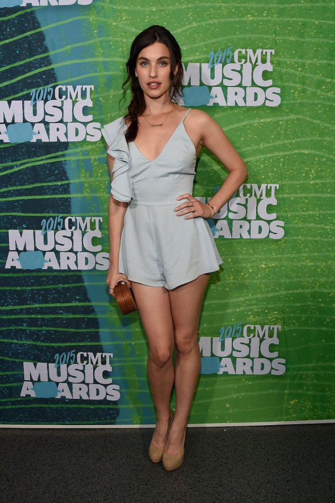 Rainey Qualley - 2015 CMT Music Awards in Nashville