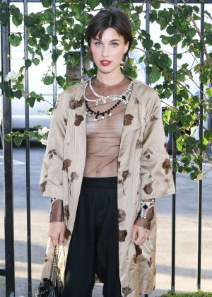 Rainey Qualley - Creatures of the Wind and System Magazine Party in LA
