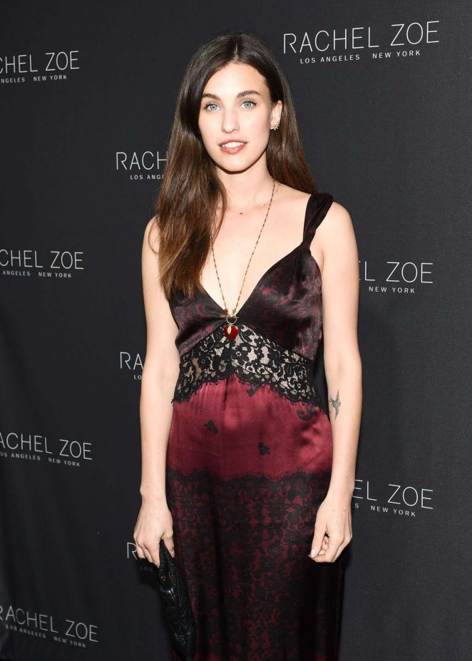 Rainey Qualley - Rachel Zoe See Now Buy Now Show FW 2017 in LA
