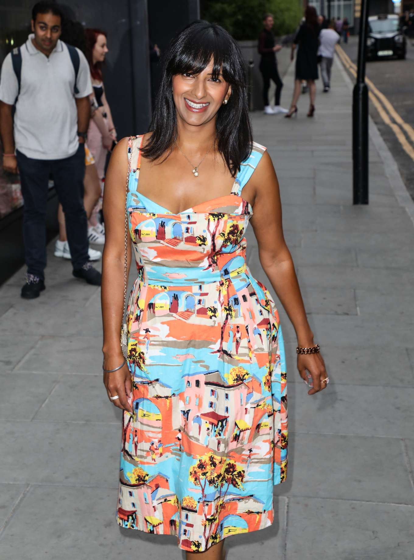 Ranvir Singh - Arrives at ITV Summer Party 2019 in London