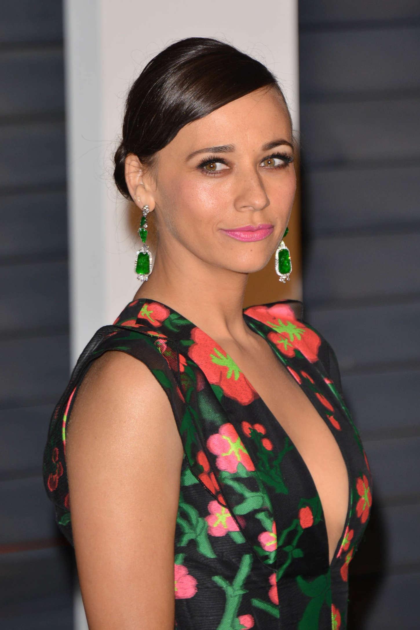 Rashida Jones: 2015 Vanity Fair Oscar Party -04 - GotCeleb