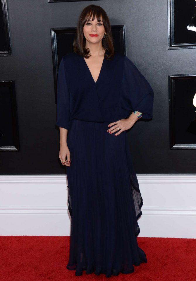 Rashida Jones – 2019 Grammy Awards in Los Angeles