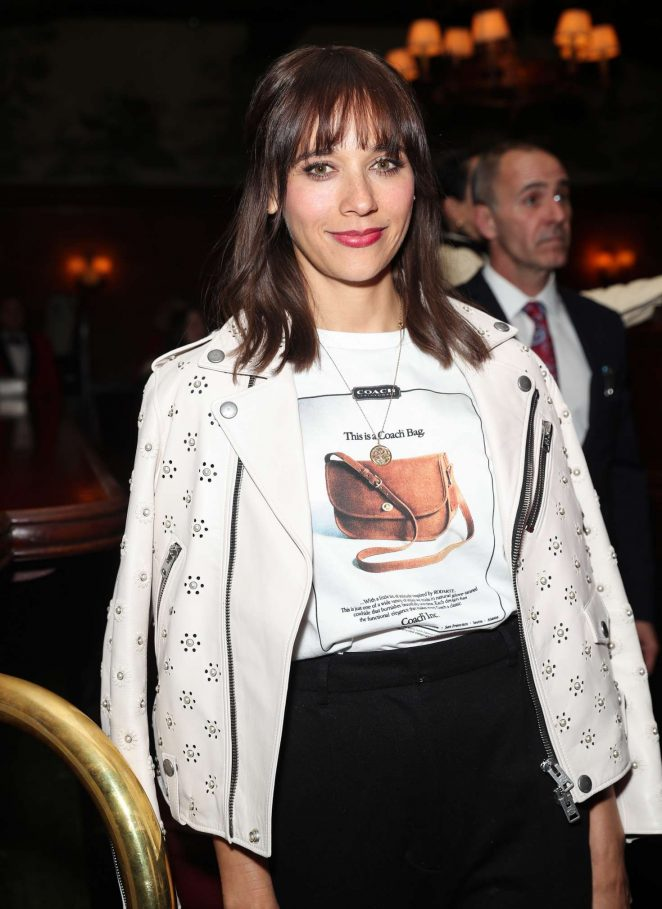Rashida Jones - Coach and Rodarte Dinner in Los Angeles