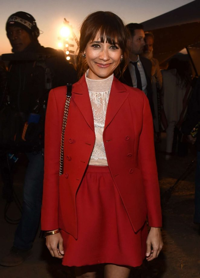 Rashida Jones - Dior Cruise Collection 2018 Show in Los Angeles