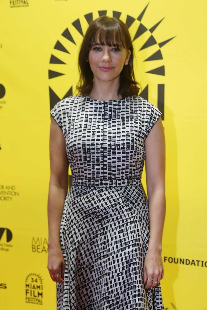 Rashida Jones - 'Hot Girls Wanted' Premiere in Miami