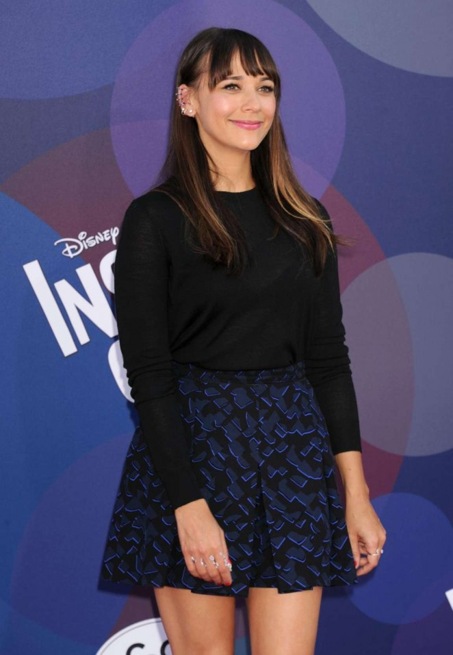 Rashida Jones - 'Inside Out' Premiere in Los Angeles