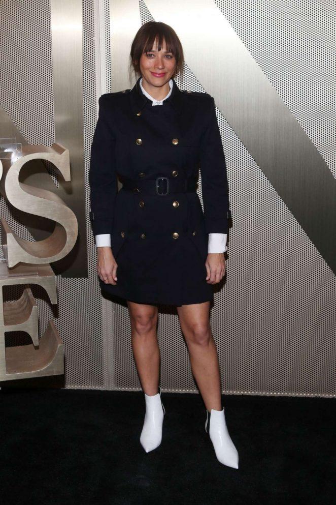Rashida Jones – Nordstrom Men's Store Opening in New York