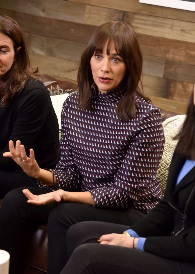 Rashida Jones - Variety Studio at 2017 Sundance Day 2 in Utah
