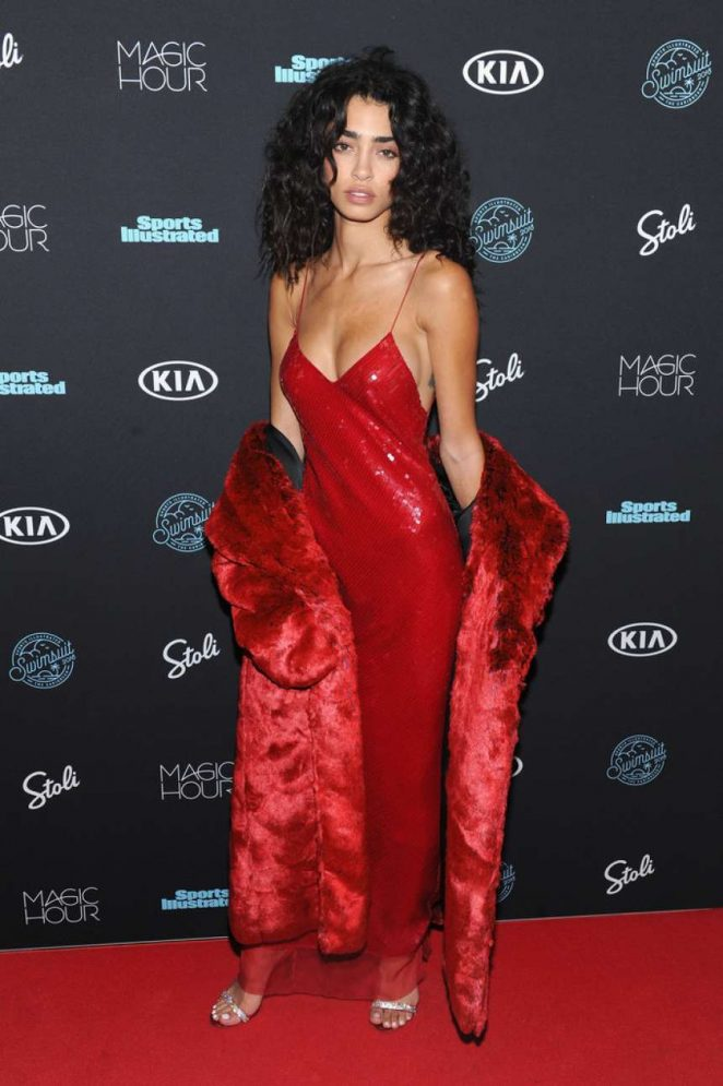 Raven Lyn – Sports Illustrated Swimsuit 2018 Launch Event in NY
