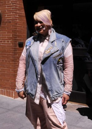 Raven Symone at ABC Studios in New York City
