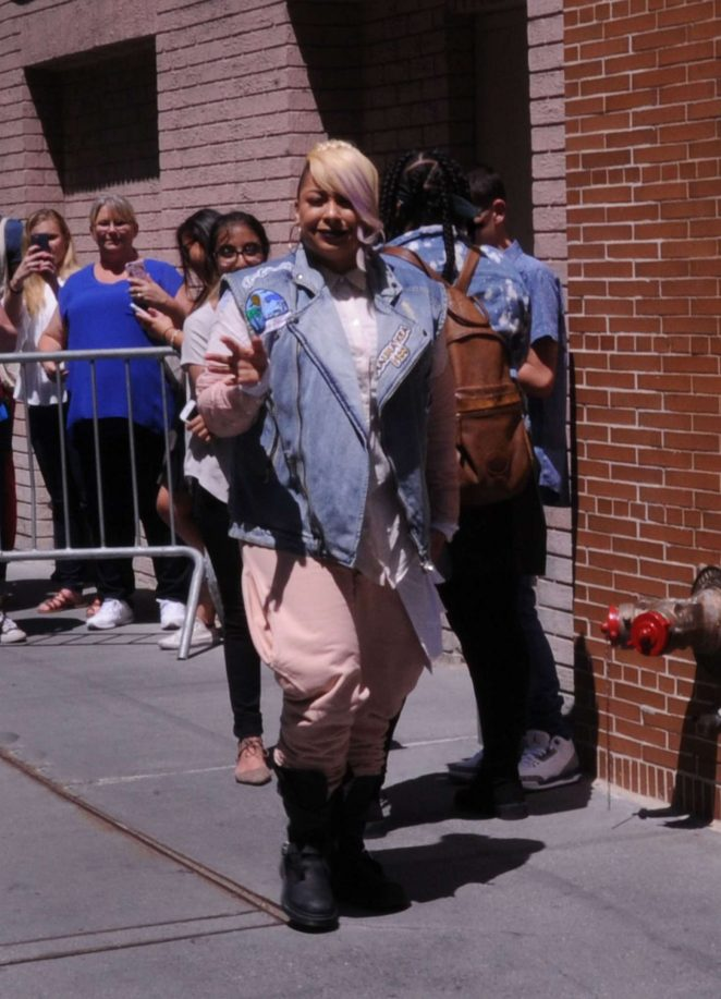 Raven Symone at ABC Studios in New York City -08