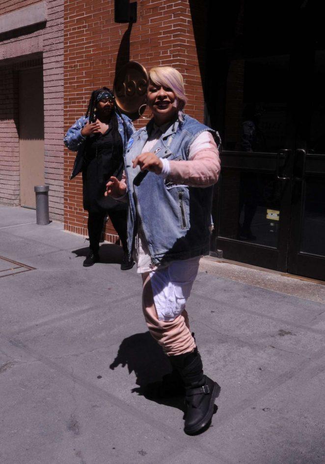 Raven Symone at ABC Studios in New York City -13