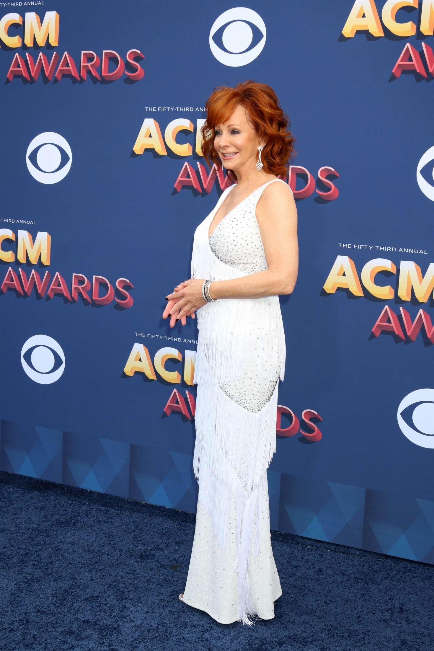 Reba Mcentire 2018 : Reba McEntire: 2018 Academy of Country Music Awards -03