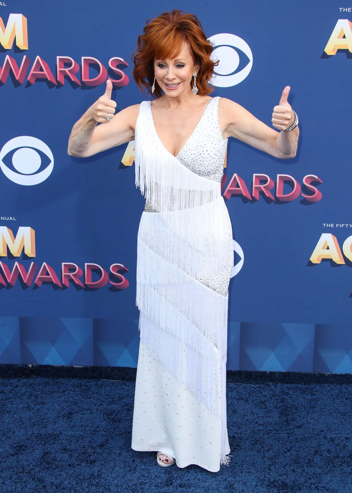 Reba Mcentire 2018 : Reba McEntire: 2018 Academy of Country Music Awards -05