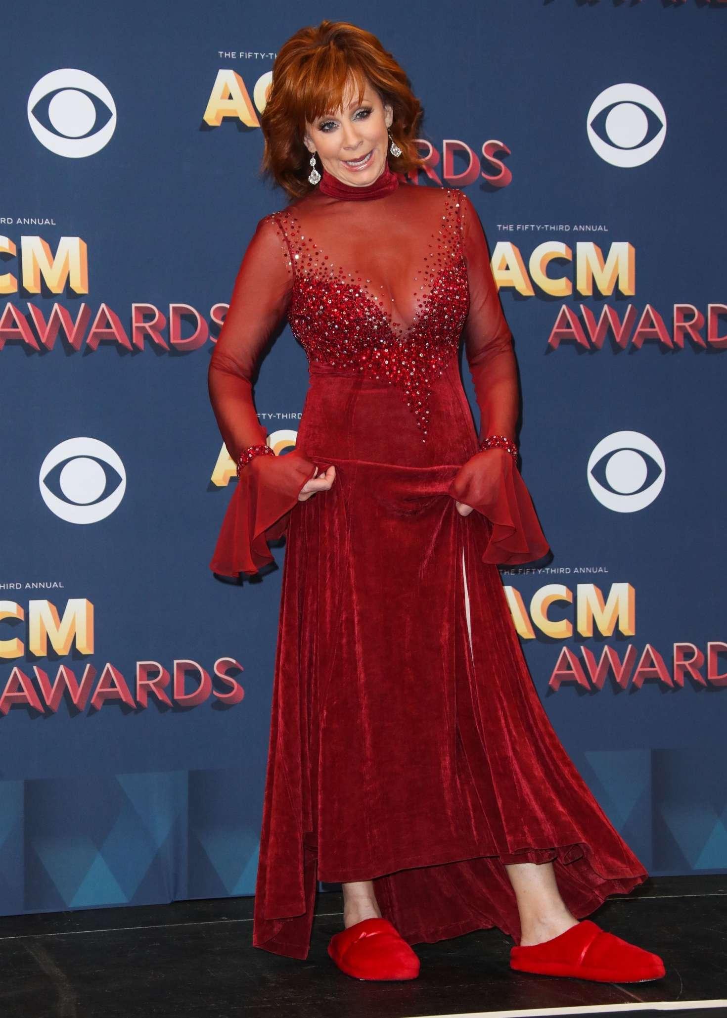 Reba Mcentire 2018 : Reba McEntire: 2018 Academy of Country Music Awards -06
