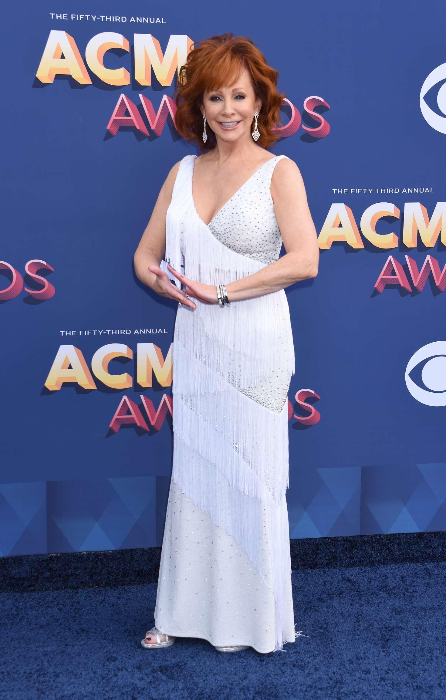 Reba Mcentire 2018 : Reba McEntire: 2018 Academy of Country Music Awards -10