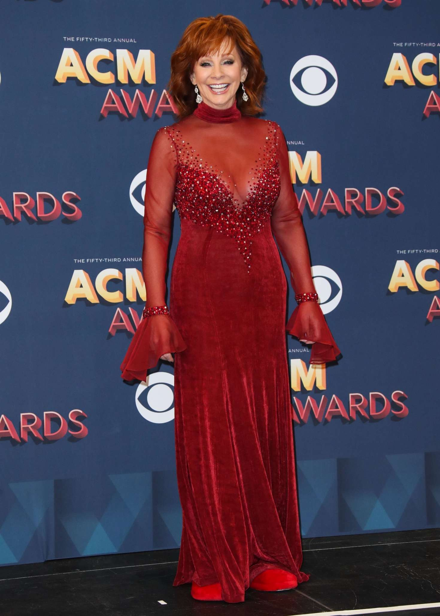 Reba Mcentire 2018 : Reba McEntire: 2018 Academy of Country Music Awards -16