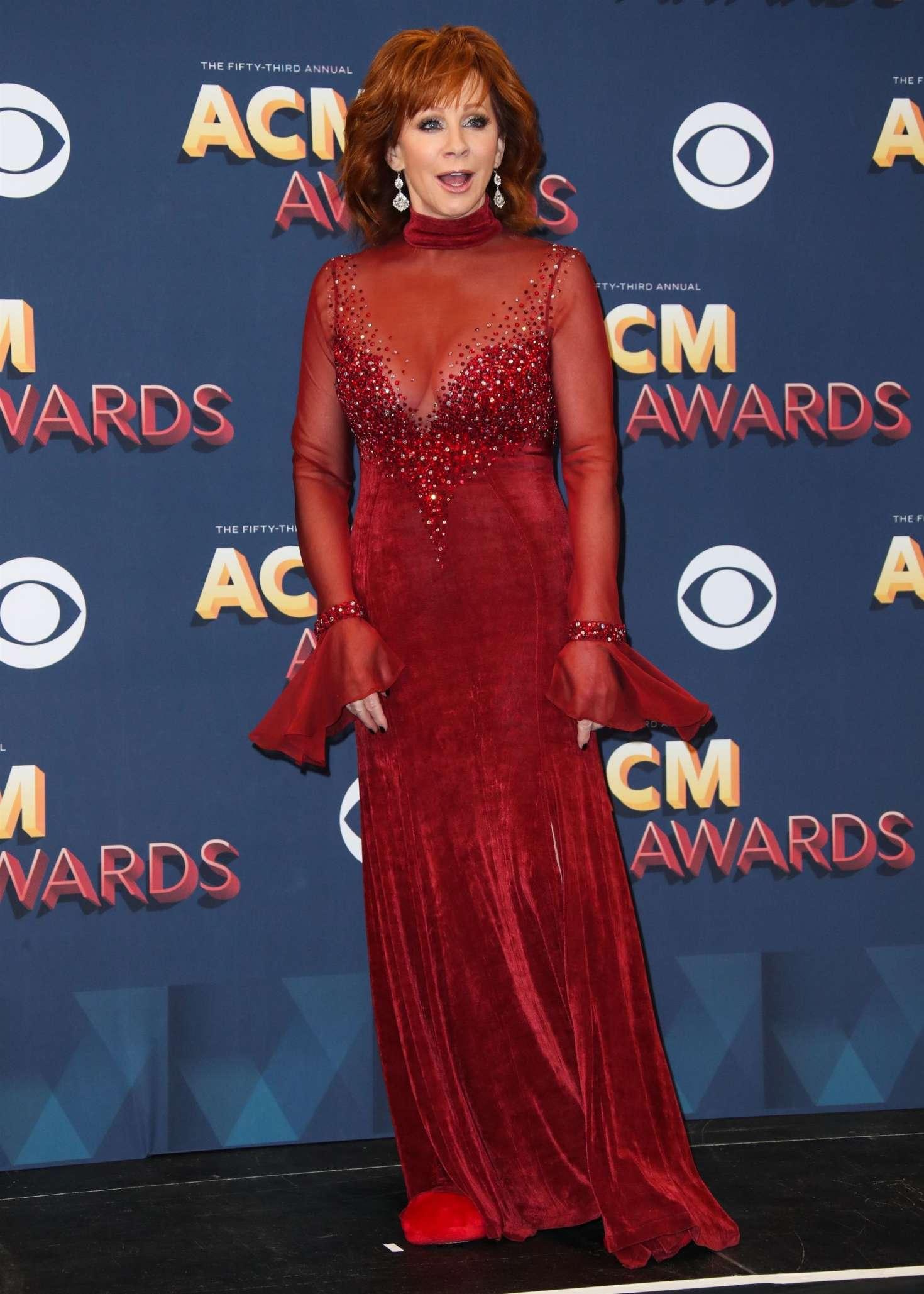 Reba Mcentire 2018 : Reba McEntire: 2018 Academy of Country Music Awards -17