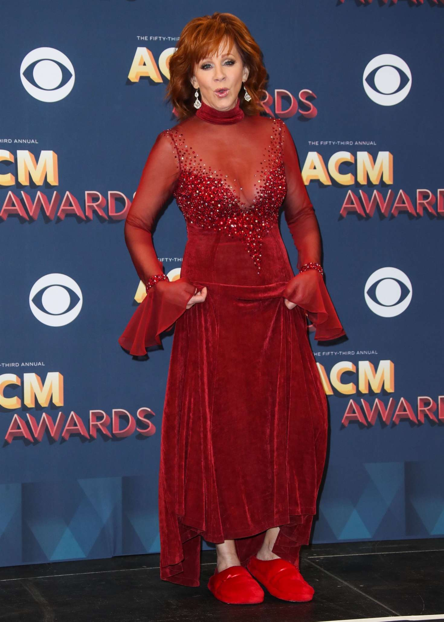 Reba Mcentire 2018 : Reba McEntire: 2018 Academy of Country Music Awards -20