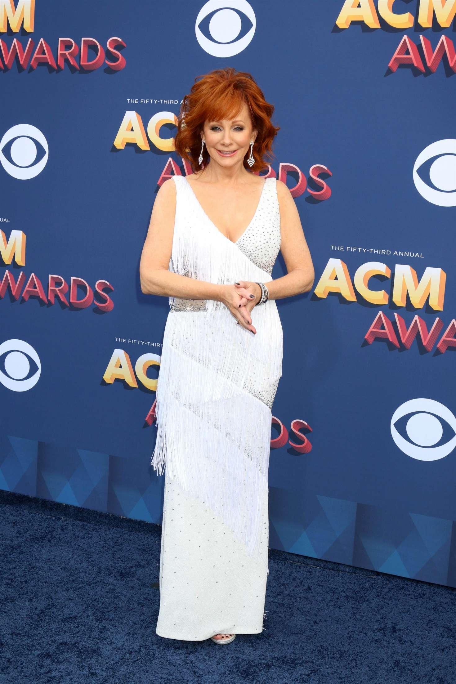 Reba Mcentire 2018 : Reba McEntire: 2018 Academy of Country Music Awards -22