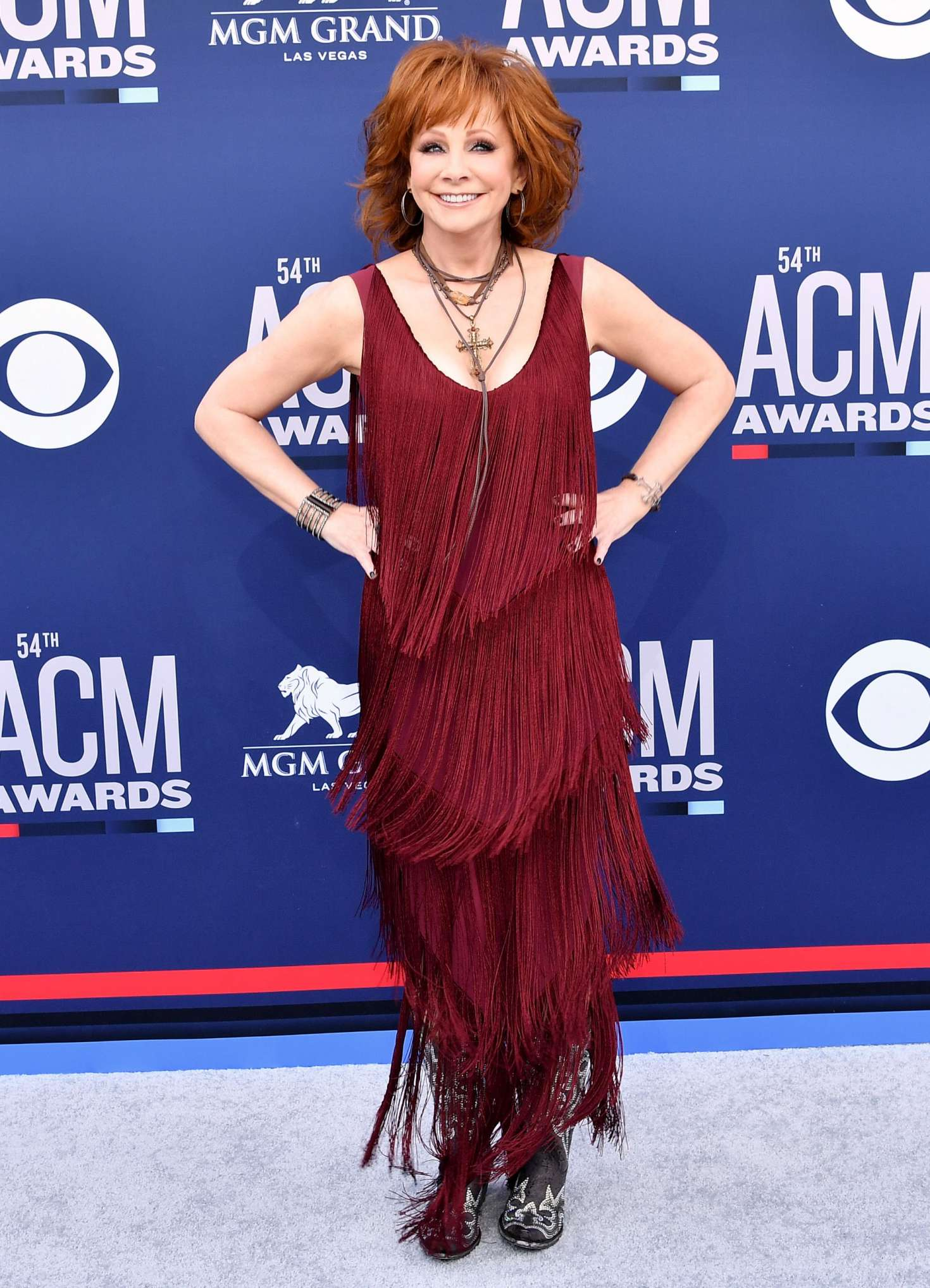 Reba McEntire - 2019 Academy of Country Music Awards in Las Vegas